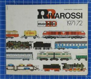 Elektrische-Modellbahn-Rivarossi-H0-modello-1971-72-Katalog-Eisenbahn-B-18919