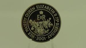 2001-Ascension-50-Pence-Corona-Regina-Elisabetta-II-75th-COMPLEANNO-FIOR-DI
