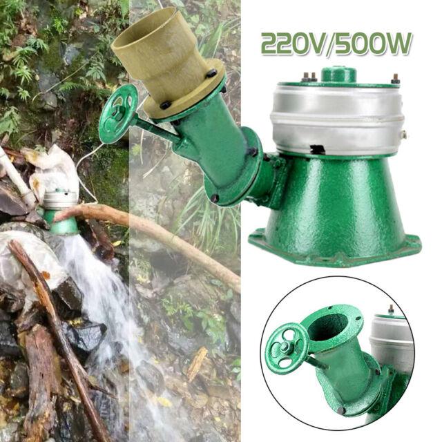 NEW 220V 500W Micro Hydro Water Turbine Generator