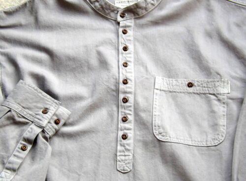 Grand-père Shirts Qualité soft denim Kaboo Trading Original /& exclusivement conçu