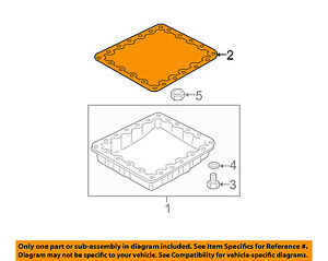 Details about NISSAN OEM-Engine Oil Pan Gasket 3139790X0A on