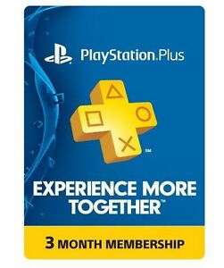 Sony-3-Month-Playstation-Plus-Membership-PS3-PS4-PS-Vita