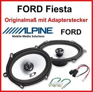Ford-Fiesta-Lautsprecher-vorne-Tuerlautsprecher-hinten-Heck-Fiesta-Ersatz-Boxen