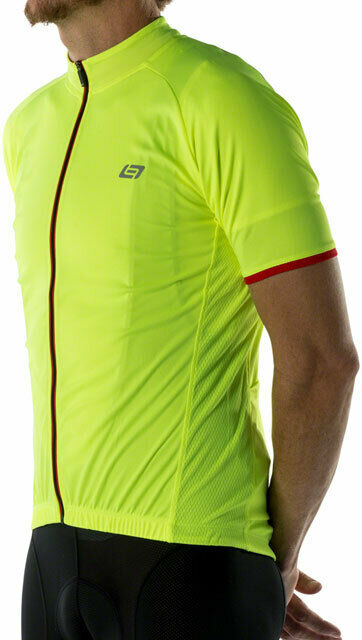 Bellwether Criterium Pro Men's Cycling Jersey HiVis SM