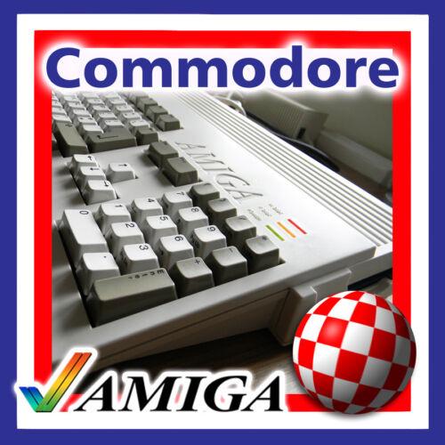 COMMODORE AMIGA 1200 KEYBOARD REPLACEMENT KEYS CAP