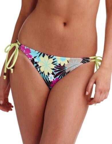 FREYA Moonflower Tie Side Bikini Brief SWIMWEAR 9917 Blue Floral XL 16//18 NEW