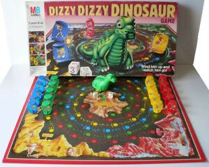 Dizzy-dizzy-dinosaur-1987-spare-game-pieces-choose-your-piece-MB-FREE-POSTAGE