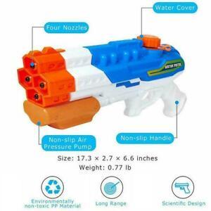 Water-Soaker-Blaster-Squirt-Pull-Type-Water-Gun-1200cc-Water-Fighting-Summe-L3K7