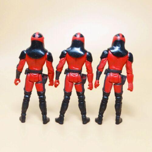 LOT of 3 Star Wars 30th Anniversary CARNOR JAX  Empire Royal Guard FIGURE N2