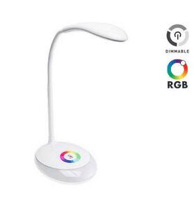 20LED Klemm Leuchte Dimmbar Leselampe Flexibel Tisch-Lampe Nachttischleuchte USB