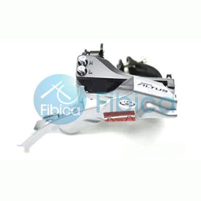 Shimano Altus FD-M370 Top Swing Front Derailleur 31.8//34.9mm 9-speed Clamp
