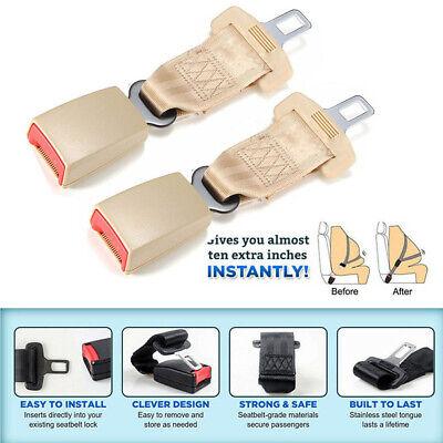 2PCS 9/'/' Seat Seatbelt Safety Belt Extender For Fat People Pregnant Women