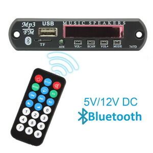 Telecommande-Voiture-Sans-Fil-Bluetooth-MP3-Decoder-Board-Audio-Module-USB-Radio-FM-Lo