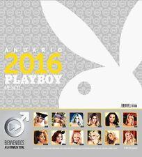 2016 PLAYBOY CALENDAR MEXICAN EDITION CALENDARIO / ANUARIO PLAYBOY MEXICO, NEW