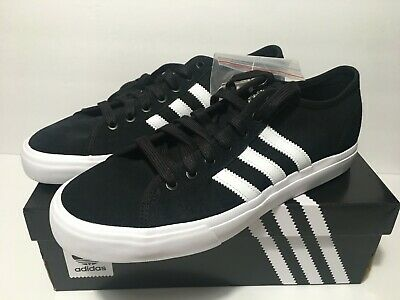 adidas Matchcourt RX Men/'s Black//White Skate Laced Shoes NEW BY3201