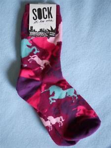 LazyOne Unicorn Women/'s Crew Sock Socks