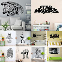Star Wars 3D Removable Wall Sticker Mural Decal Vinyl Waterproof Room Home Decor