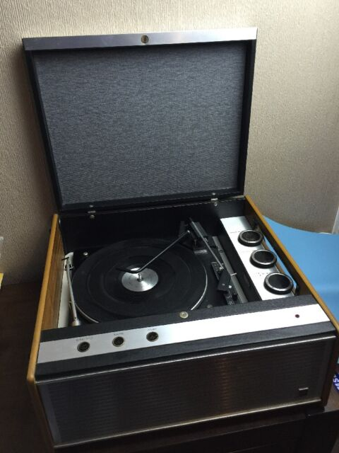 vintage Murphy A855G Record Player turntable Retro display powers up untested