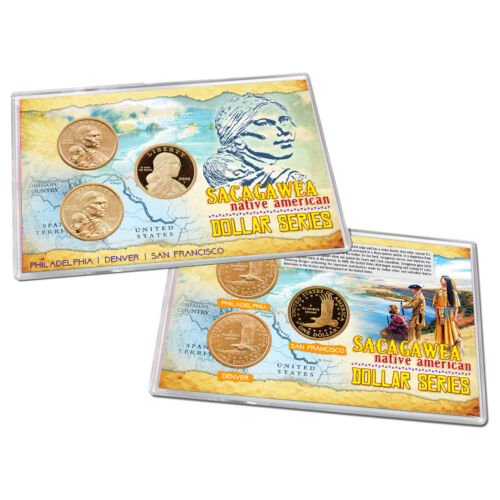 Denver and San Francisco in Lens Uncirculated Proof 2008 Sacagawea Philadelphia
