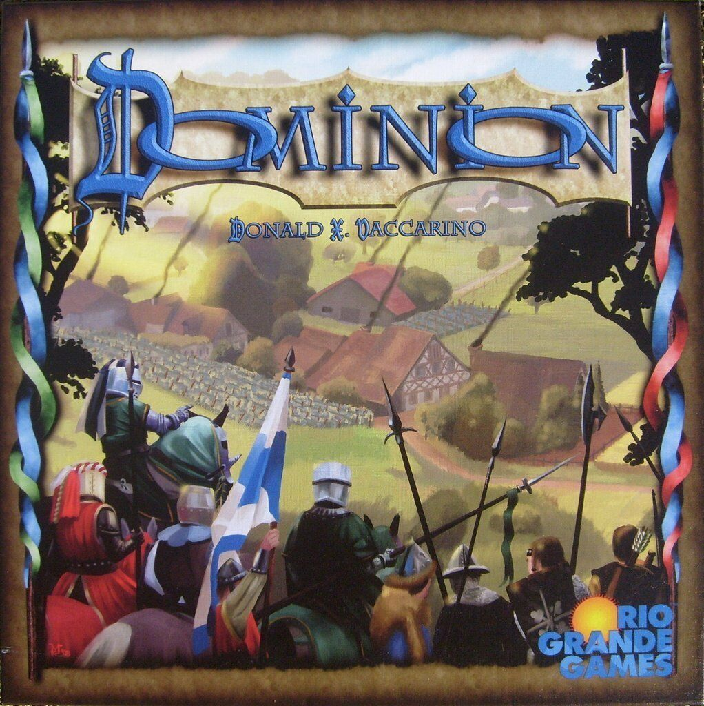 Dominion Super Bundle - Base + 4 Expansions - Factory Sealed - Free Shipping