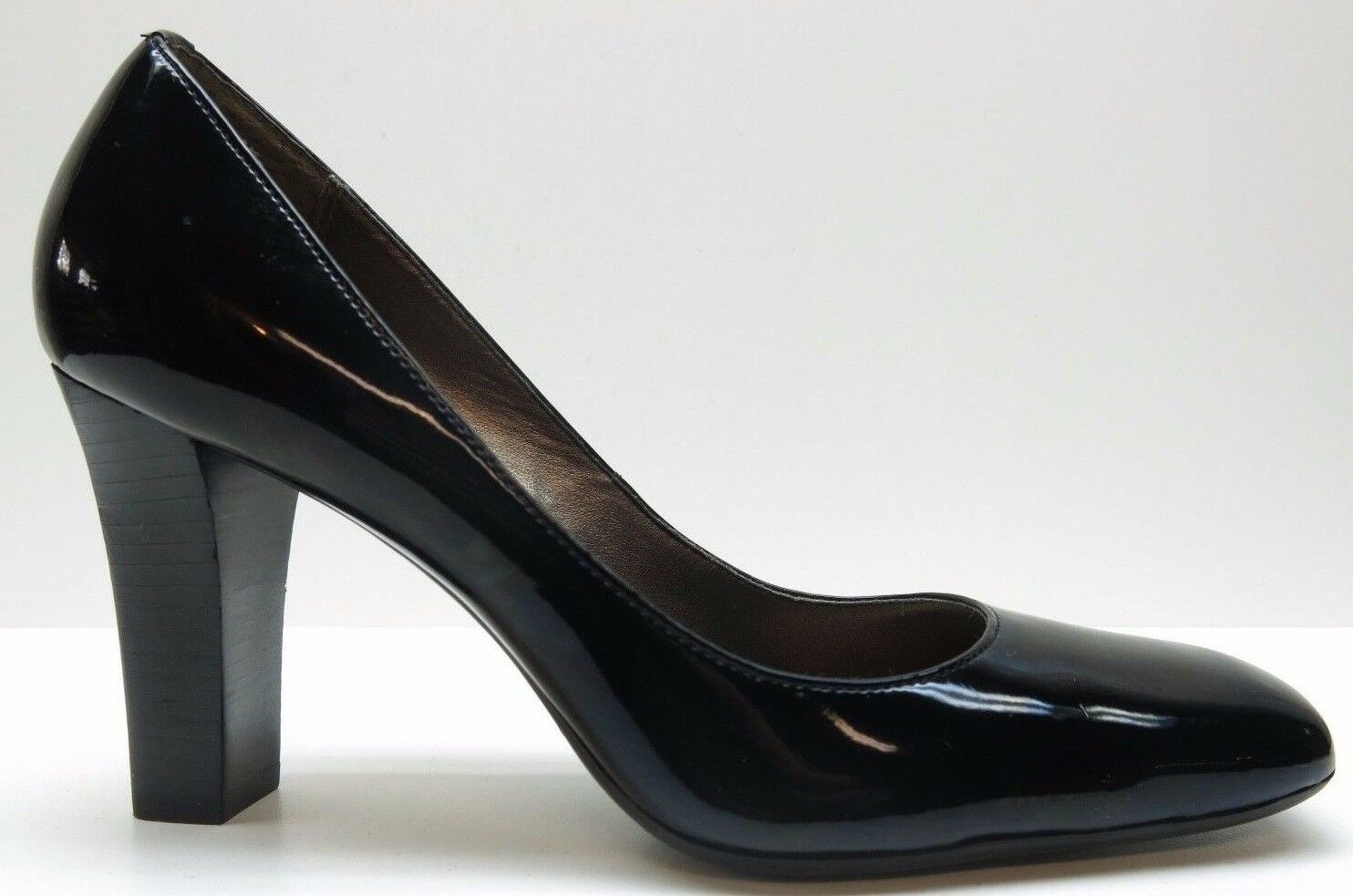 Circa Joan & David Black Patent Leather High 6.5 Heels Dress Pumps 6.5M 6.5 High MSRP $89 762ce8