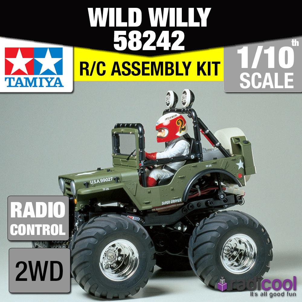 58242 TAMIYA WILD WILLY 2 WR-02 1 10th R C KIT RADIO CONTROL 1 10 CAR NEW