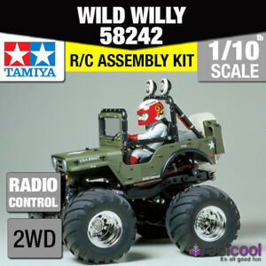 58242 Tamiya Wild Willy 2 Wr-02 Kit 1 / 10ème R / C Radio Control 1/10 Car Nouveau!