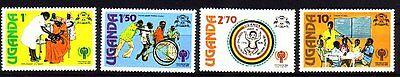 Uganda Michelnummer 203-206 Postfrisch Quell Sommer Durst intern: 166