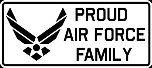 Proud Air Force Family Vinyl Car Truck Window Decal Bumper Sticker US Seller