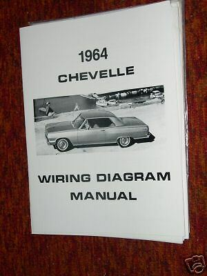 1964 Chevrolet Chevelle Wiring Diagram Manual | eBay
