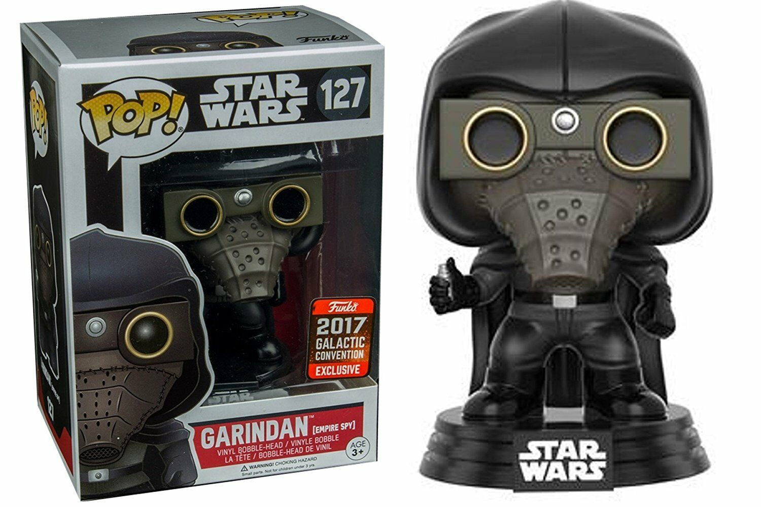 GCE EXCLUSIV STAR WARS GARINDAN EMPIRE SPION 3.75  POP VINYL FIGUR FUNKO 127  | Reichhaltiges Design