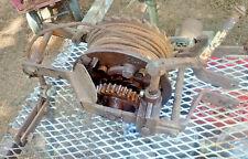 Vintage Gold Medal Junior Machine Hand Crank Winch Patent Scaffolding Co