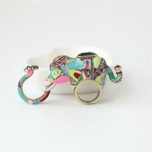 Heidi-Daus-Unforgettable-Expression-Elephant-Design-3-Finger-Ring-Size-7