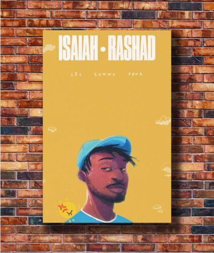 New Isaiah Rashad Lil Sunny Tour Music Poster 14x21 24x36 Art Gift X-1291
