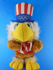 Vintage Korea Wallace Berrie Plush SAM The OLYMPIC EAGLE 1980 Mascot