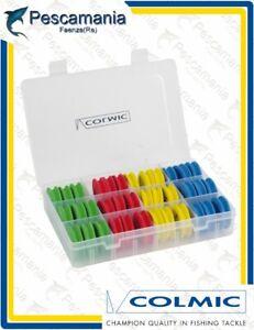Colmic-Eva-Spool-Box-scatola-con-rotolini-surf-casting-travi