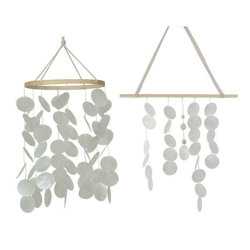 Natural Shells Wind Chime Bedroom Balcony Room Ornaments Outdoor Garden Decor