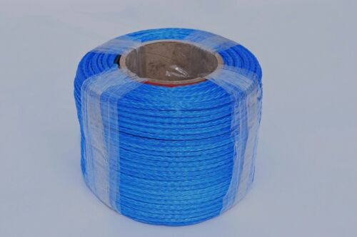 Blue 5mm*100m Synthetic Winch Rope,Spectra Rope,ATV Winch Cable,4×4 Towing Ropes