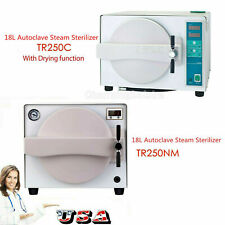 Us Dental Lab 18l Autoclave Sterilizer Steam Sterilization With Drying Function
