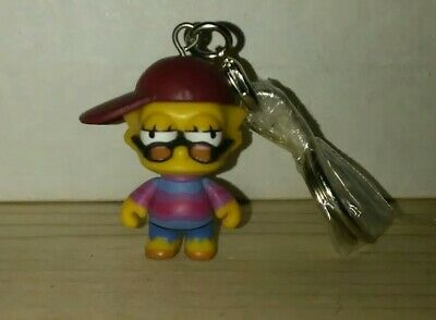 The Simpsons CRAP-TACULAR Zipper Pull Keychain Series Bartman