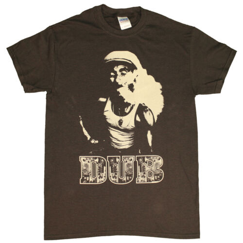 Lee Scratch Perry  DUB Chocolate Brown T shirt