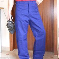 Arbeitshose Arbeitskleidung Berufskleidung Baumwolle BW240 blau neu