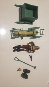 GI Joe Vehicle Dreadnok Zartan Chameleon Swamp Skier Leg Ski 1984 Original Part