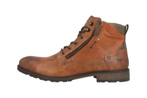 Mustang Shoes Boots in Übergrößen Braun 4140-501-301 große Herrenschuhe