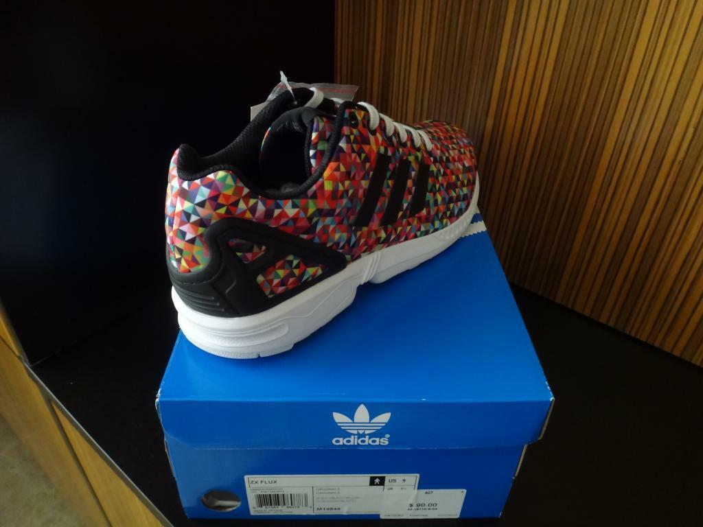 Adidas uomini xeno zx flusso multi - colore prism nero 8 - 13 prism colore superstar nmd ultra impulso 5832ed