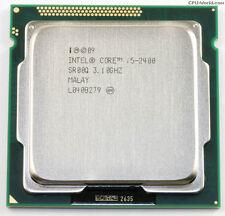 Intel Core i5-2400 Quad-Core Processor 3.1 GHz 6 MB Cache LGA 1155 2nd Gen.