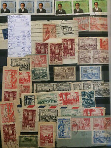Timbres-collections-Maroc-1939-a-1973