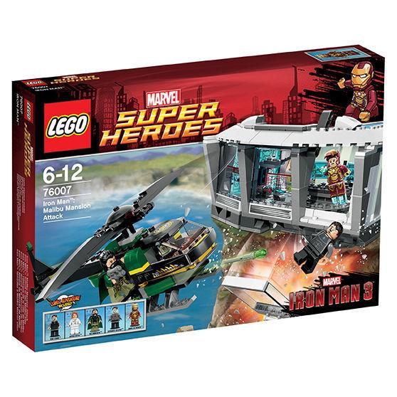 LEGO Marvel Super Heroes Iron Man Tumult in der Malibu-Villa (76007) NEU OVP