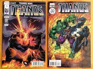 Thanos-18-A-B-Venom-30th-Set-Donny-Cates-Ghost-Rider-1st-Print-Marvel-NM