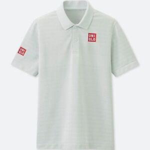 ea47aaab UNIQLO x Kei Nishikori 2017 French Open DRY-EX Polo Shirt S WHITE ...